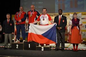 Powerlifter TJ Sokola na Mělníce Štefan Zvada na MS 2014